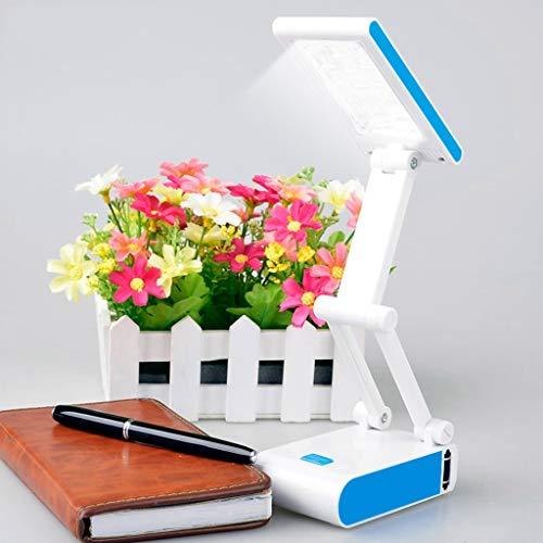 Sunlera Touch USB Flexible Lampe de Bureau LED avec 3 Niveaux Dimmer et D/écor Plante Porte-Crayons