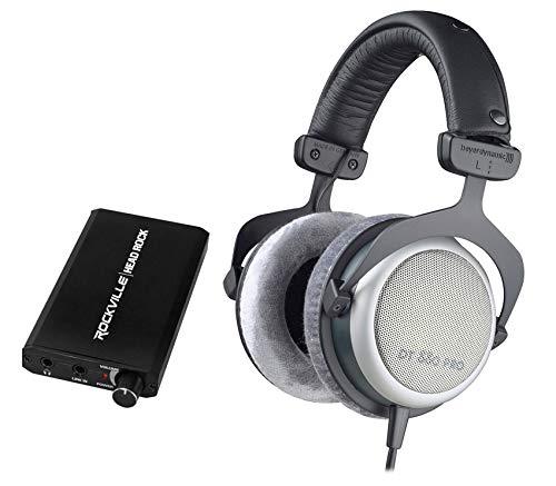 Beyerdynamic DT-880-PRO-250 Studio Reference Monitor Headphones+Amplifier Amp