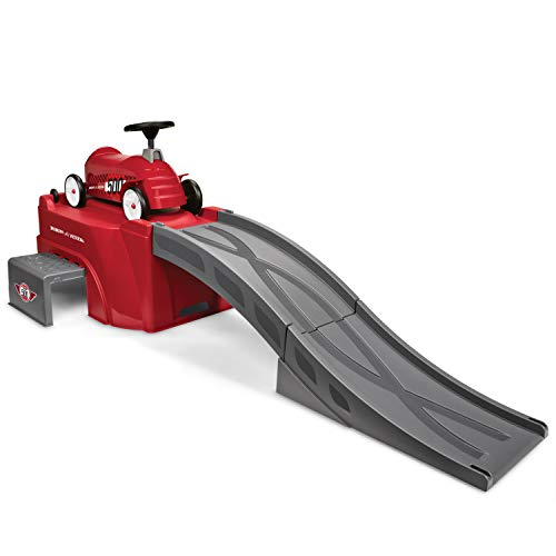 Radio Flyer 500 with Ramp, Toddler Ride On Toy, Ages 3-5 Red