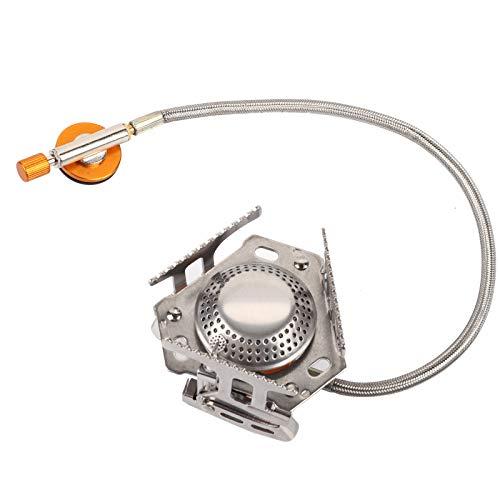 Hornilla de gas, hecha de la estufa de gas que acampa de cocinar esencial del aire del doble canal plástico
