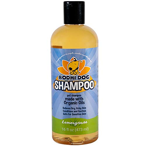 Organic Dog Shampoo | Soothing All Natural Hypoallergenic Pet Shampoo Dogs & Cats | 100% Non-Toxic | Made in USA -16oz (473ml)