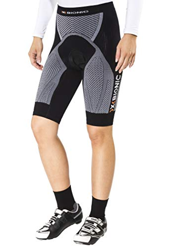 X-Bionic imperméable pour Adulte Biking Lady The Trick Ow Pantalon Short Comfort S Multicolore - Noir/Blanc
