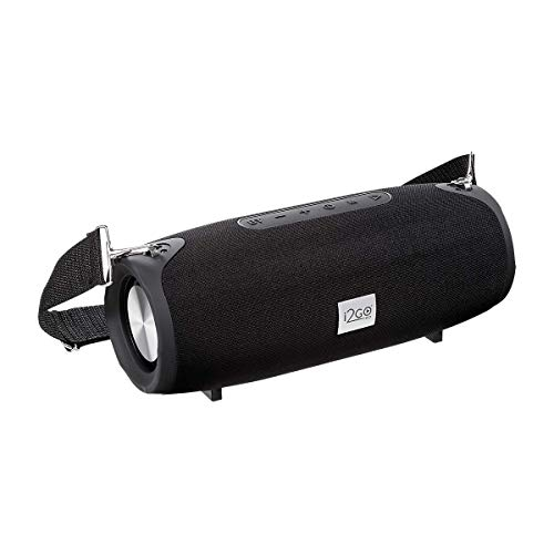 Caixa de Som Bluetooth Ultra Sound Go I2go 20W RMS Resistente à Água, Preto