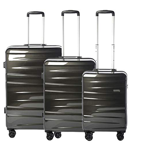 Epic Vision 4-Rollen-Trolley Set 3tlg. Black Pearl