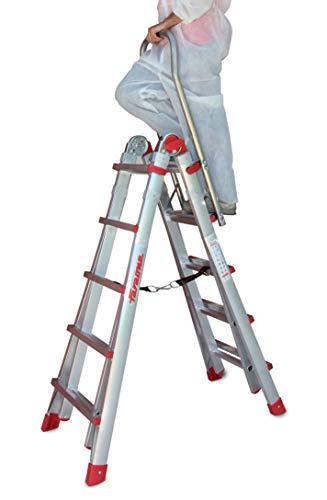 Scala telescopica in alluminio professionale TELES.T5S • 10+10 gradini