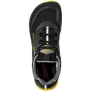 ALTRA Men's AL0A4VQG Lone Peak All-WTHR Low Trail Running Shoe, Black/Yellow - 11.5 M US