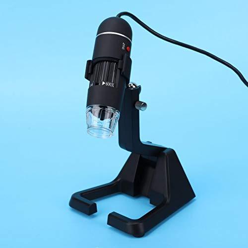 Endoskop Zoom 25-600X Hochgenaue Kamera Professionelles USB-Digitalmikroskop mit universeller Metallunterstützung für das Labor
