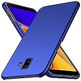 ORNARTO Hülle für Samsung Galaxy J6 Plus(2018),J6+ Ultra Dünn Schlank Stoßfest, Anti-Scratch FeinMatt Einfach Handyhülle Abdeckung Stoßstange Hardcase für Samsung Galaxy J6 Plus(2018) 6,18 Zoll Blau
