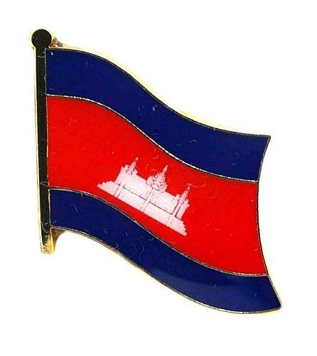 Flaggen Pin Kambodscha Fahne Flagge Anstecknadel