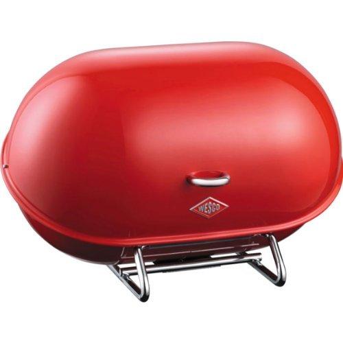 Wesco Single Breadboy - bread boxes (Red, Steel) by Wesco