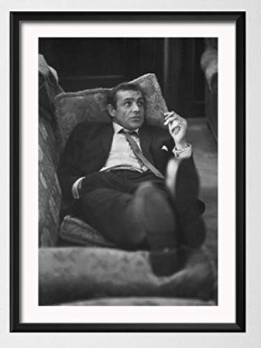 WZGJZ Canvas Print Sean Connery 007 Movie Wall Art Pictures Living Room Home Decor Kw584Zk 40X60Cm Frameless