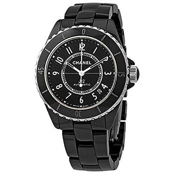 Chanel J12 Automatic Chronometer Black Dial Ladies Watch H5697