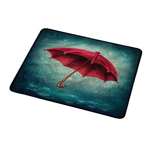 Mousepad Customized Winter, Retro Herbst Regenschirm für das Spielen