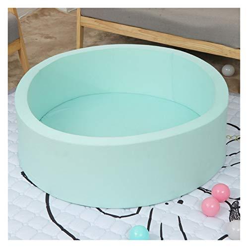 ZXQC Baby Play Clave Sponge Ball Ball Pool Pool Pool, Regalo De Niño Adecuado para Puerto Trasero Interior Y Al Aire Libre Bebé Niño Pequeño Y Juego (Color : Green)