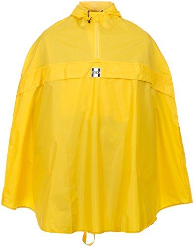Hock Pioggia Abbigliamento Adulti Pioggia Poncho Rain Stop, Unisex, Regenponcho Rain Stop, Blu, XXL