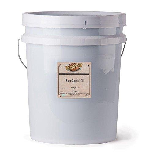 Golden Barrel Coconut Oil (5 Gallon Pail)