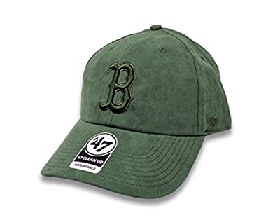 47 Brand Boston Red Sox Ultrabasic Suede Tonal Clean Up Slouch Fit Hat