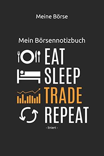 Mein Börsennotizbuch: - liniert -