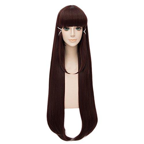 LanTing Peluca LoveLive!Sunshine!! Kurosawa Dia Brown Long Cosplay Party Fashion Anime Human costume Full Wigs Synthetic Hair Heat Resistant Fiber Hair
