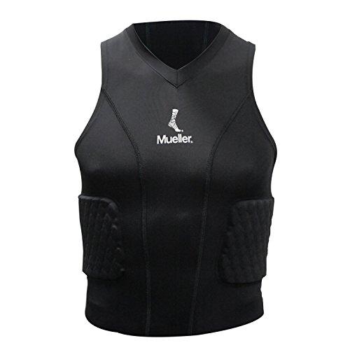 Mueller 6091-JUG-REG Diamond gewatteerd shirt, zwart, jongen - Regular