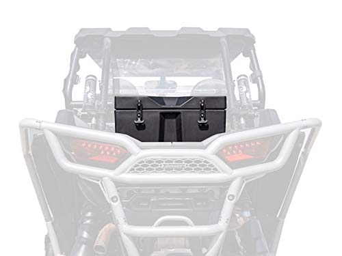 SuperATV Heavy Duty Insulated Rear Cooler / Cargo Box for Polaris RZR XP 1000 / XP 4 1000 (2014+) - Sealed Lid Keeps Ice in and Mud Out!