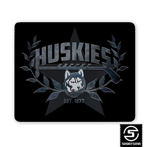 SPORTSMA Kassel Huskies Mousepad Mikrofaser rutschfest weiß Eishockey Fanartikel