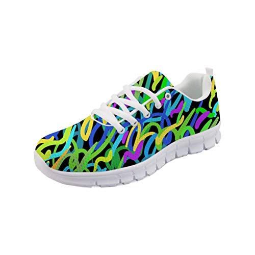MODEGA Turnschuhe Kunst Bowling-Schuhe Farbe Braunschweig Cross-Trainer Schuhe Crosstrainer Sneaker für Männer Basketball Größe 44 EU | 9 UK
