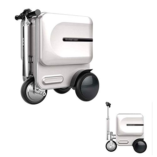 Learn More About ZNSBH SE3 Auto Following Electric Suitcase Scooter, 29.3 L Foldable Portable Smart ...