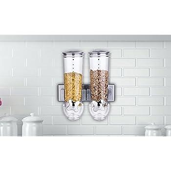Dispensador doble de cereales, de Shine: Amazon.es: Hogar