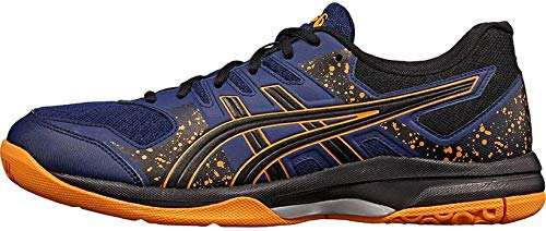 ASICS Unisex Kinder Flare 7 GS Volleyball-Schuh, Blue Expanse/Black, 38 EU