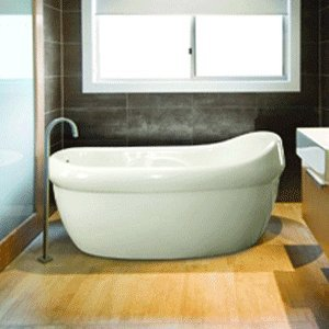 Affordable Hydro Systems JAC6640ATO Jacqueline Soaker Tub 66 x 40 x 24