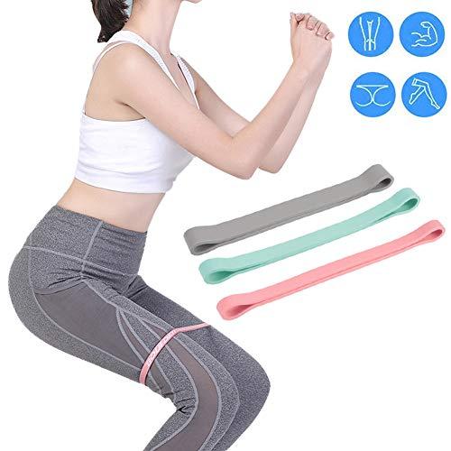 Bidetu Bandas Elasticas Musculacion Gomas Elasticas Para Mujeres y Hombres, Pilates, Yoga, Rehabilitación, Estiramiento, Entrenamiento, Crossfit