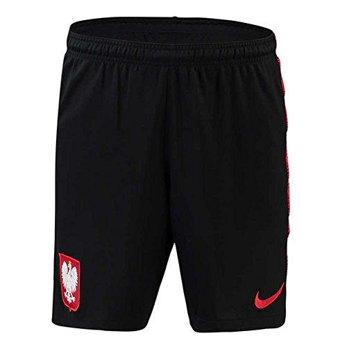 Nike 2018-2019 Poland Squad Training Shorts (Black) - Kids