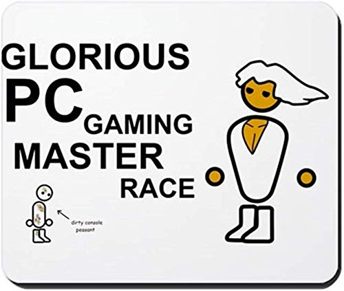 Glorious PC Gaming Master Race - Non-Slip Rubber Mousepad, Gaming Mouse Pad