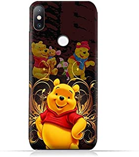 Xiaomi Mi Mix 2S TPU Soft Protective Silicone Case with Winnie the Pooh Design