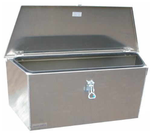ADE - Premium Deichselbox von Edelstahlhaus, Transportbox, Alubox für PKW Anhänger D2A20N100-075-35-40 - 5