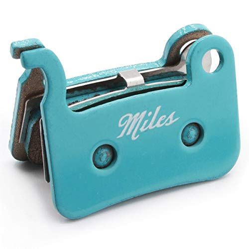 Pastillas de freno de disco SInteres de Miles Racing para bicicletas MTB...
