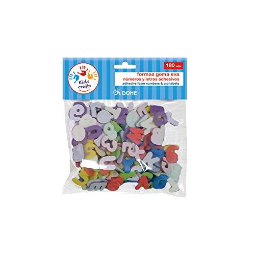 DOHE 18118 - Pack de 180 formas adhesivas, goma EVA