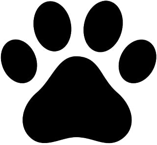 Pack of 3 Dog Paw, Dog Print Stencils, 11x14, 8x10 and 5x7 Made from 4 Ply Matboard