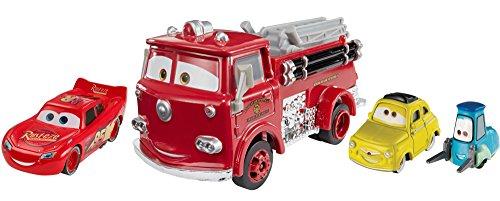 Cars 3 - Veicoli di Radiator Springs Set di Personaggi Macchine Giocattolo, FNV13