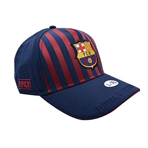 Gorra Senior FC. Barcelona 2018-2019 - Producto Licenciado - Talla L/XL Adulto Regulable - Poliéster 100%