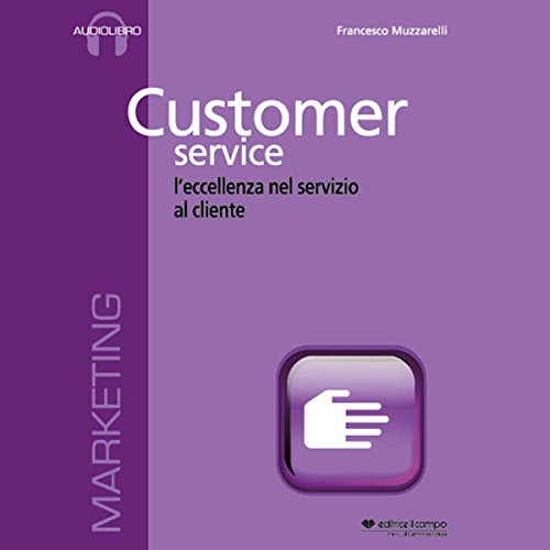 Customer service audiobook cover art