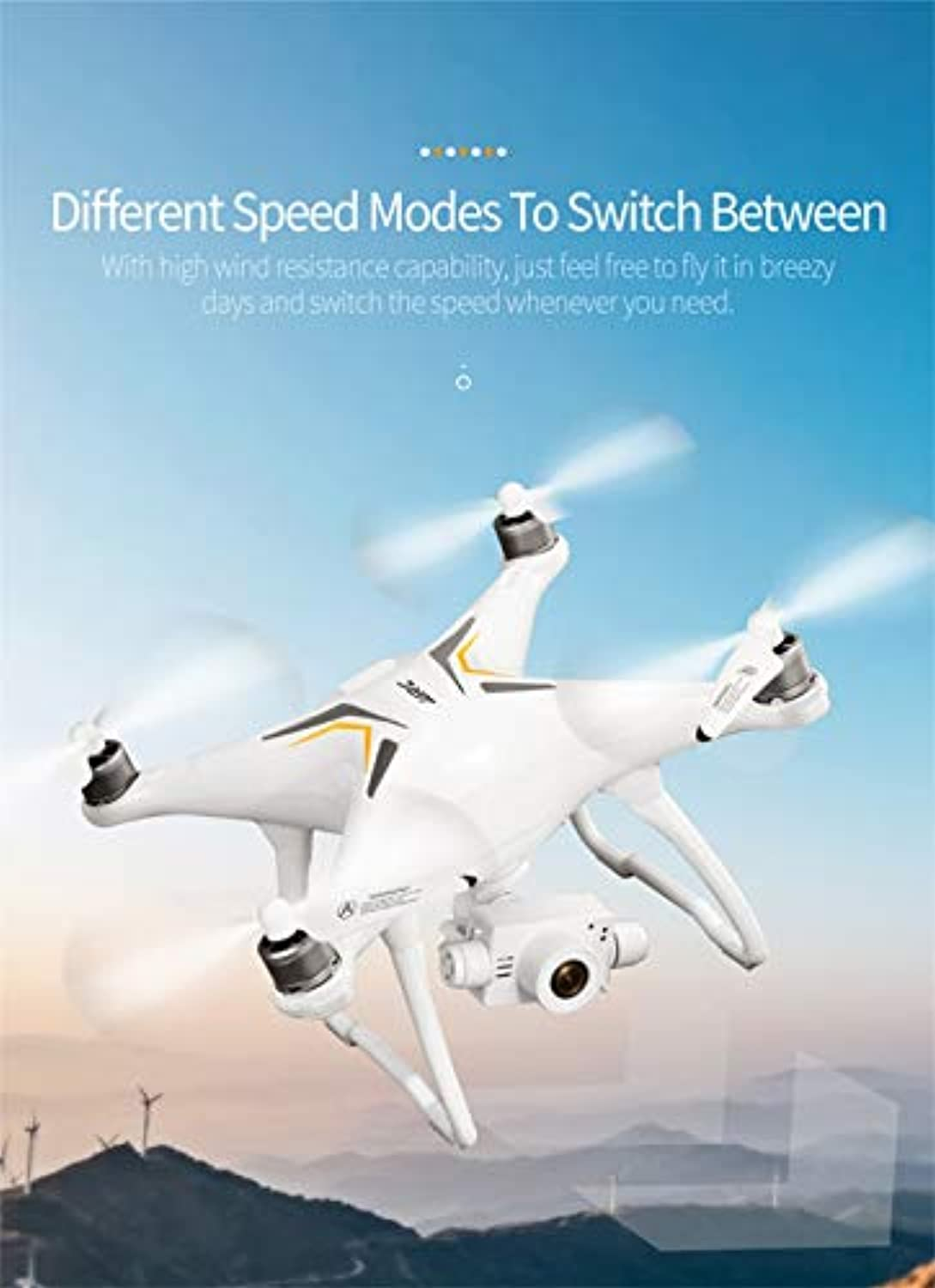 QHJ JJRC X6 Stabilisierung Anti Jitter PTZ HD Aerial RC Quadcopter Brushless Drohne Spielzeug