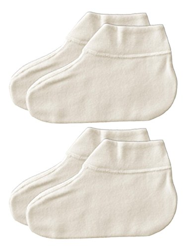 Sangora 2er Sparpack Bettsocken 8050165 = L in wollweiss
