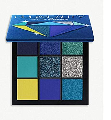 Exclusive New HUDA BEAUTY Obsessions Eyeshadow Palette (Sapphire)