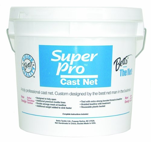Betts Super Pro 8-Foot Mono Cast Net with 5/8-Inch Mesh