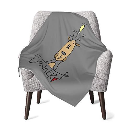 Olverz Donner - Manta de Navidad para bebé, cómoda, manta de felpa, para bebé, manta de bebé, suave para cochecito, cuna, recién nacidos