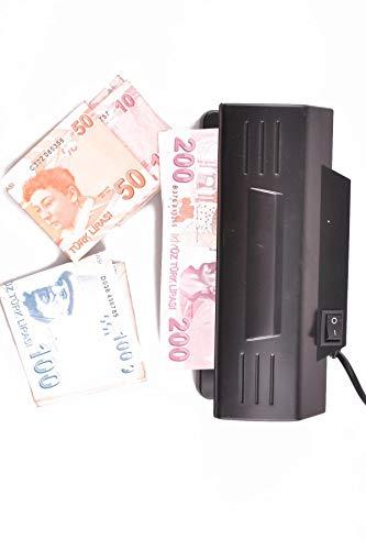 Money Detector Detector billetes falsos rileva Monedero bien Euro luz UV