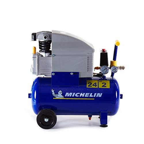Michelin - Compresseur d'air MB24, 24L 2CV