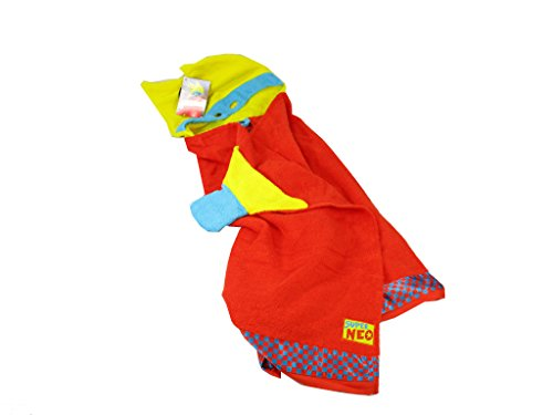 NEO spkng12275 70 x 115 cm Poncho Cape de Bain avec Application